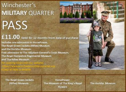 Winchester's Military Museums Joint Ticket